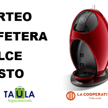 SORTEO CAFETERA DOLCE GUSTO