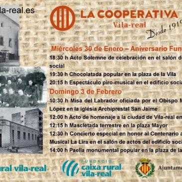 Actos celebración Centenario Cooperativa Católico Agraria